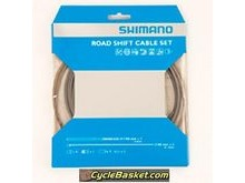 SHIMANO CABGR6GY Road Gear Cable Set With PTFE Coated Inner Wire.
