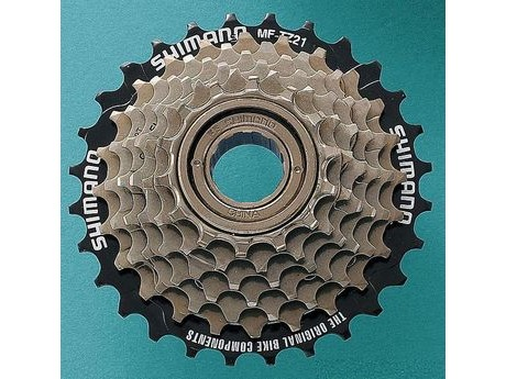 SHIMANO MF-TZ21 7 Speed Multiple Freewheel. click to zoom image