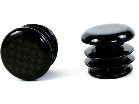M-PART SPT152 Carbon Fibre Bar End Plugs For Road Bikes. click to zoom image