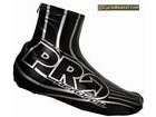PRO PRS200161 Aerofoil Aerodynamic Lycra Shoe Cover with PU Coating Black