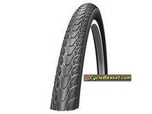 "SCHWALBE Marathon PLUS 26"" Road tyres with Reflective Sidewall & Smart Guard ATB Road Tyres."