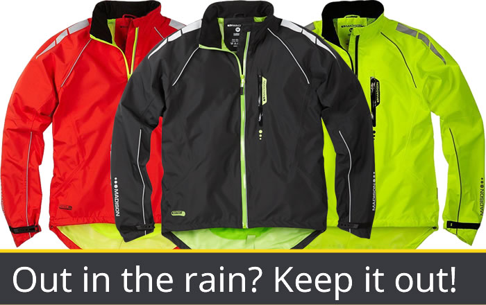Waterproof Jackets: keep the winter rain out!
