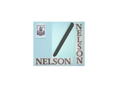 Nelson Self Adhesive Frame Transfers - With Headbadge. click to zoom image