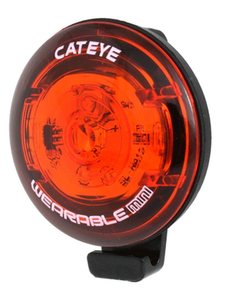 Cateye Wearable Mini Rear Battery Bike Light
