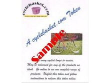 CYCLEBASKET.COM Gift Tokens £100.00