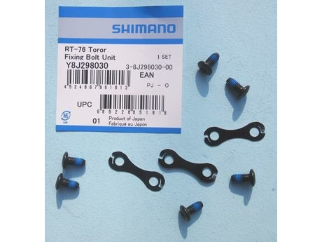 Shimano Y8J298030 SM-RT76 Rotor Fixing Bolt Unit - S33 click to zoom image