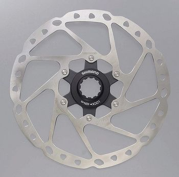 Shimano M665 RT64 Centre-Lock Disc Rotor 180mm click to zoom image