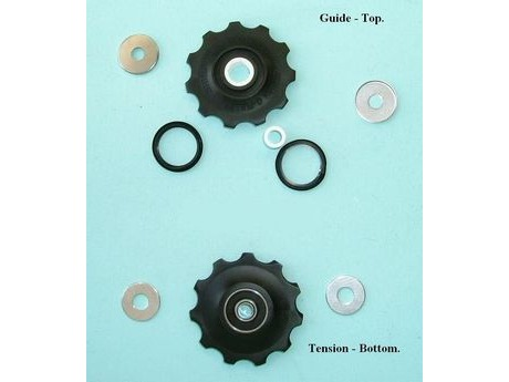 Shimano Y5X998150 RD-6700 Tension & Guide Pulley Set click to zoom image