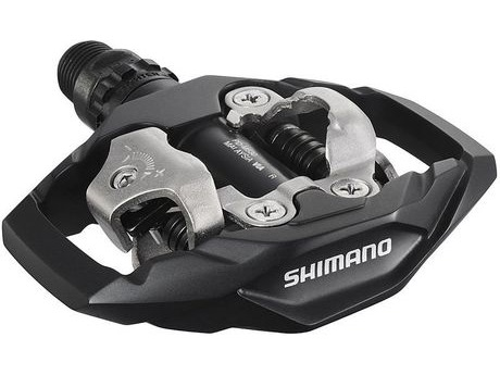 Shimano PD-M530 MTB SPD Trail Pedals - Two Sided Mechanism click to zoom image