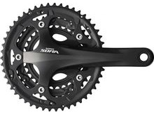 Shimano FC-3503 Sora 2 Piece Design Triple Chainset, 9 Speed.
