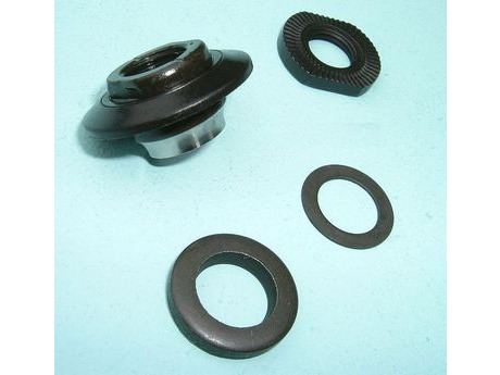 Shimano 2SW 9804 HB-M525-A left hand lock nut unit. click to zoom image