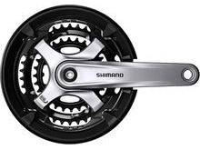 Shimano FC-TY701 Tourney chainset 7 / 8 Speed