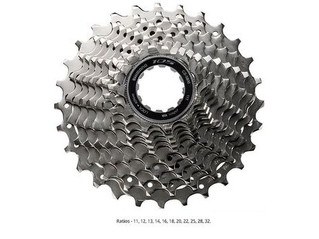 Shimano CS5800132 105 11 Speed Cassette (11-32) click to zoom image
