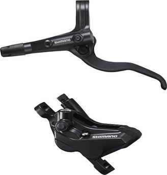 Shimano BL-MT400 Bled Brake Lever/Post Mount Calliper click to zoom image