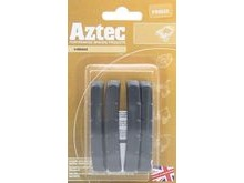 Aztec PBA5022 V-Type Inserts Black - Pack Of 2 Pairs For Aluminium Rims.