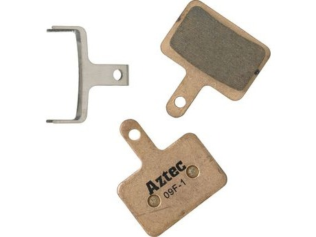 Aztec PBA0062 Sintered disc brake pads for Shimano Deore M515 / M475 / C501 / C601 Mech / M525 - D11 click to zoom image