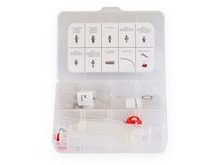 Aztec PBAKB03 Universal bleed kit with syringe and nipples