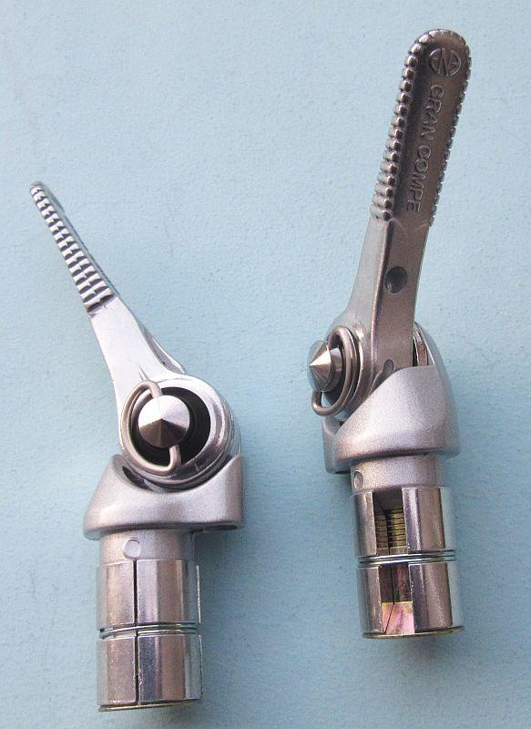 Dia Compe ENE Gran Compe ENE HOLE-IN Stem Quill stem 26mm 25.4 Silver