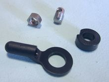 SKS SKX6011S Bolt, Nut & End Cap for Chromoplastics/Longboards