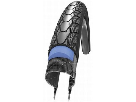 Schwalbe SCH11100767 Schwalbe Marathon Plus Wired Tyre With Smartguard Reflective Sidewall 700x28c. click to zoom image